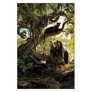 Jungle Book. Размер: 40 х 60 см